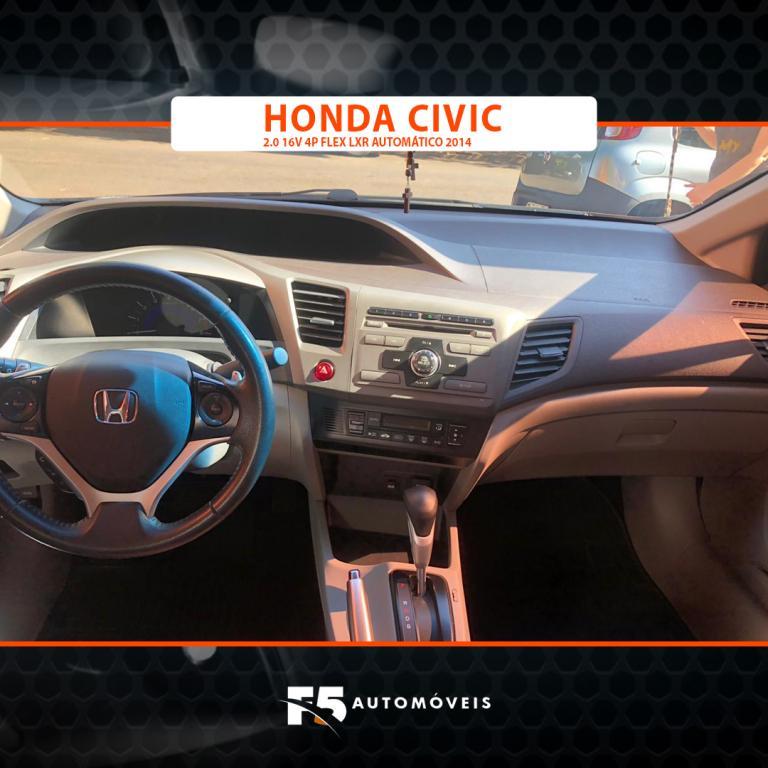 HONDA Civic 2.0 16V 4P FLEX LXR AUTOMÁTICO, Foto 8