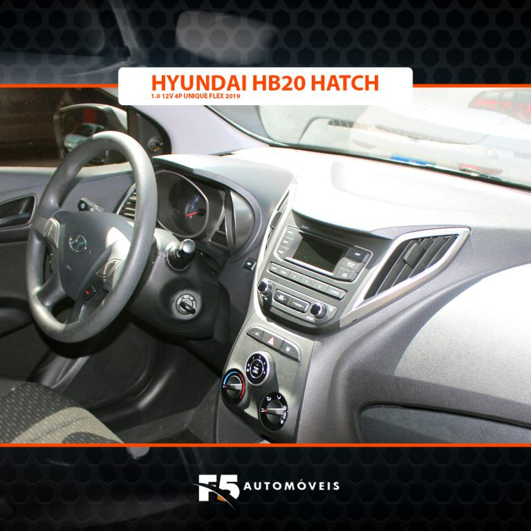 HYUNDAI HB 20 Hatch 1.0 12V 4P FLEX UNIQUE, Foto 10