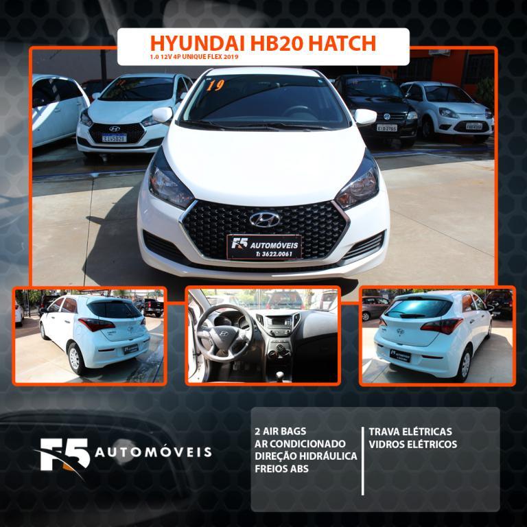 HYUNDAI HB 20 Hatch 1.0 12V 4P FLEX UNIQUE, Foto 1