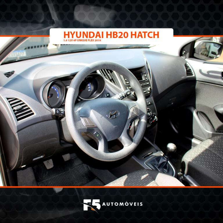 HYUNDAI HB 20 Hatch 1.0 12V 4P FLEX UNIQUE, Foto 8