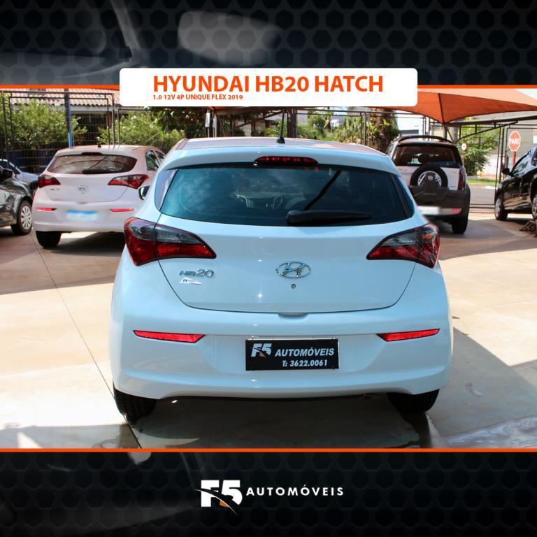HYUNDAI HB 20 Hatch 1.0 12V 4P FLEX UNIQUE, Foto 6