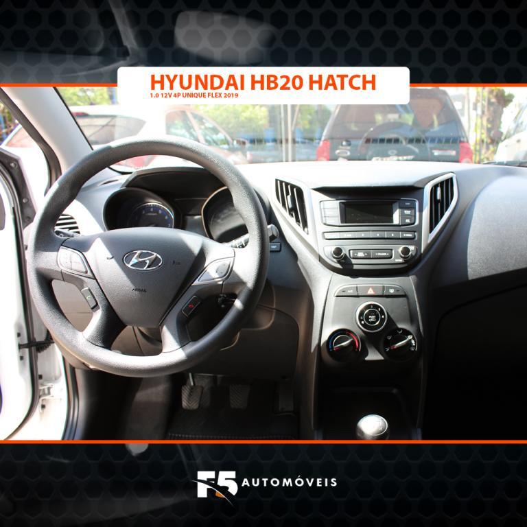 HYUNDAI HB 20 Hatch 1.0 12V 4P FLEX UNIQUE, Foto 9