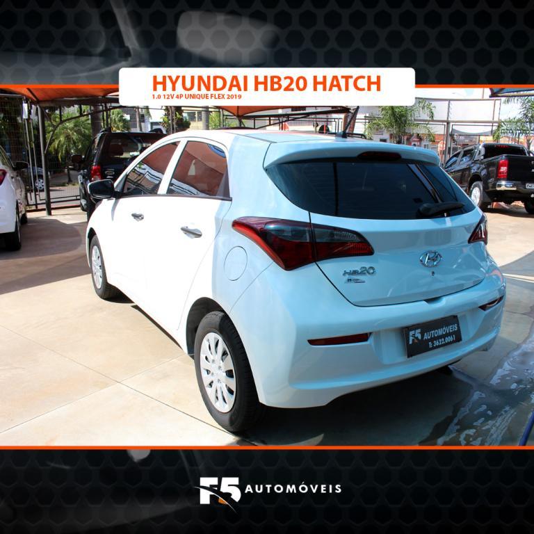 HYUNDAI HB 20 Hatch 1.0 12V 4P FLEX UNIQUE, Foto 5
