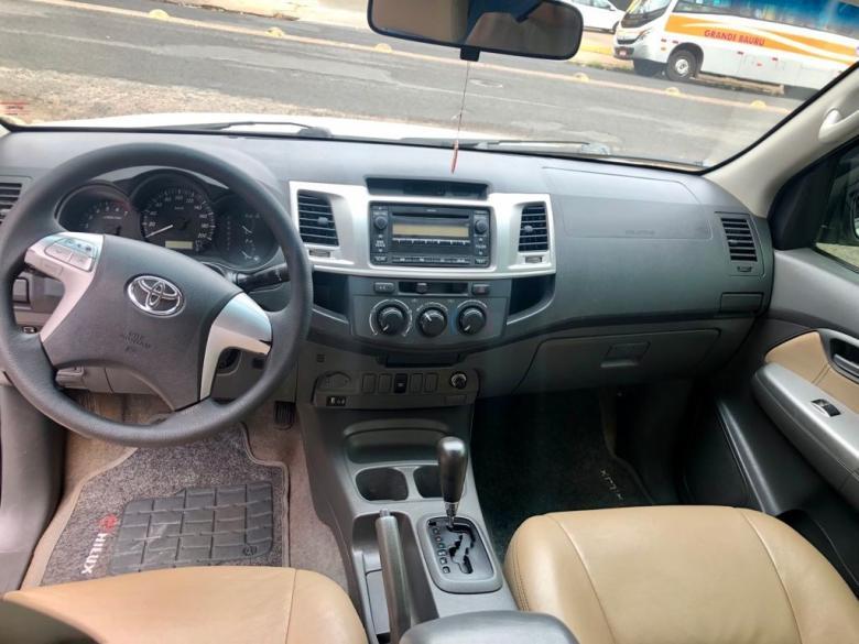 TOYOTA Hilux Caminhonete 2.7 16V 4P SR CABINE DUPLA AUTOMÁTICO, Foto 12