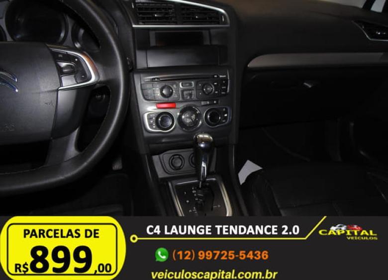 CITROEN C4 Sedan 2.0 16V 4P FLEX LOUNGE TENDANCE AUTOMÁTICO, Foto 16
