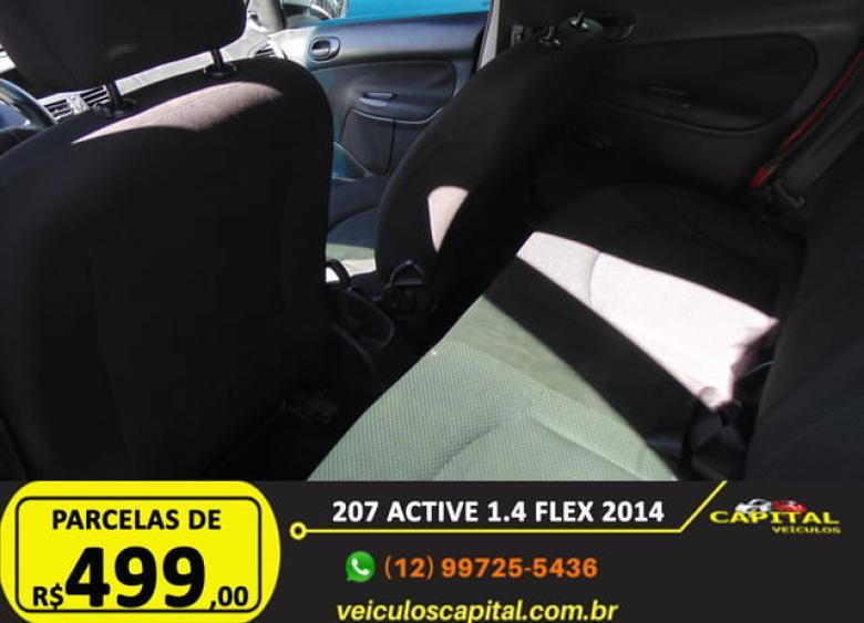 PEUGEOT 207 Hatch 1.4 4P ACTIVE FLEX, Foto 9