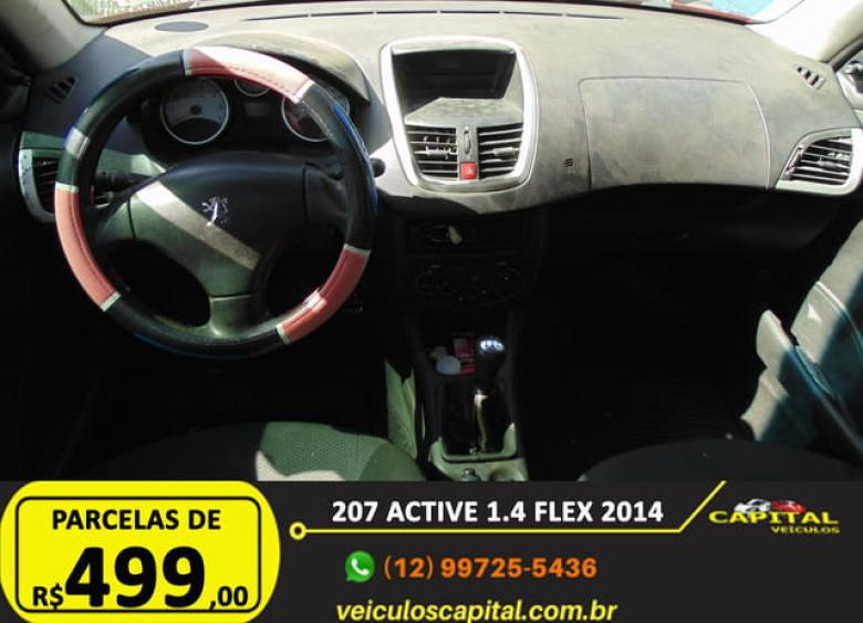 PEUGEOT 207 Hatch 1.4 4P ACTIVE FLEX, Foto 10