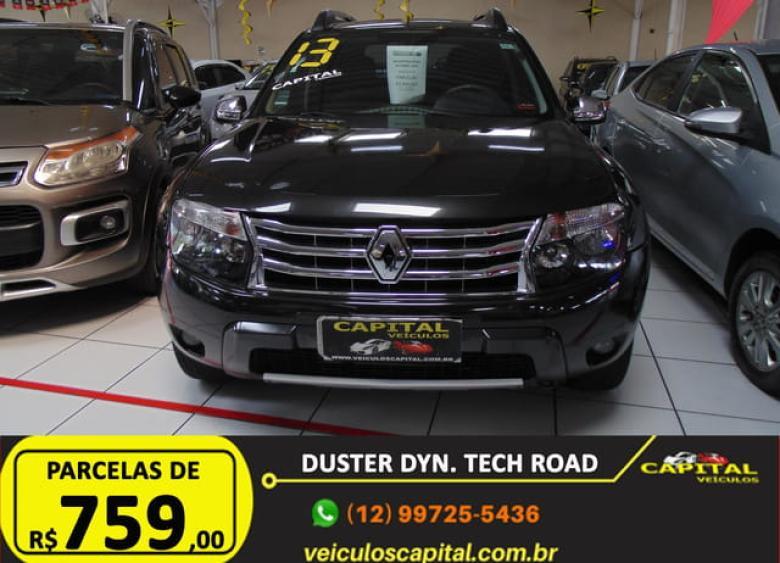 RENAULT Duster 2.0 16V 4P FLEX TECH ROAD AUTOMÁTICO, Foto 4