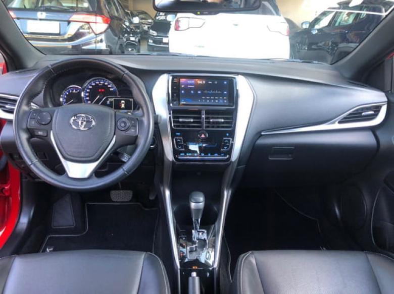 TOYOTA Yaris Hatch 1.5 16V 4P FLEX XLS MULTIDRIVE AUTOMÁTICO CVT, Foto 10