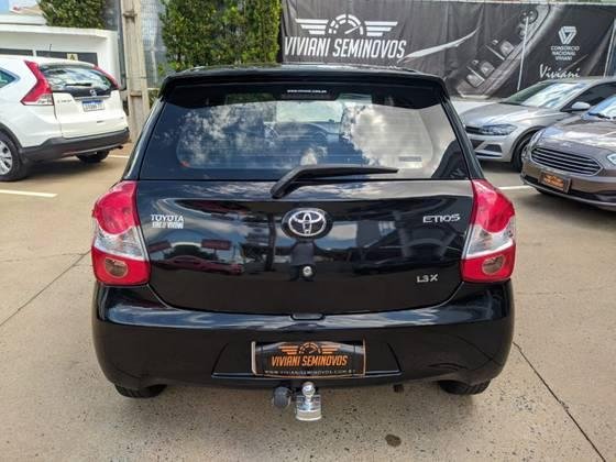 TOYOTA Etios Sedan 1.3 16V 4P FLEX X, Foto 1