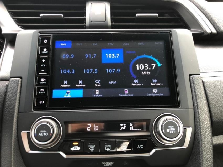 HONDA Civic 2.0 16V 4P EX FLEX  AUTOMÁTICO CVT, Foto 9