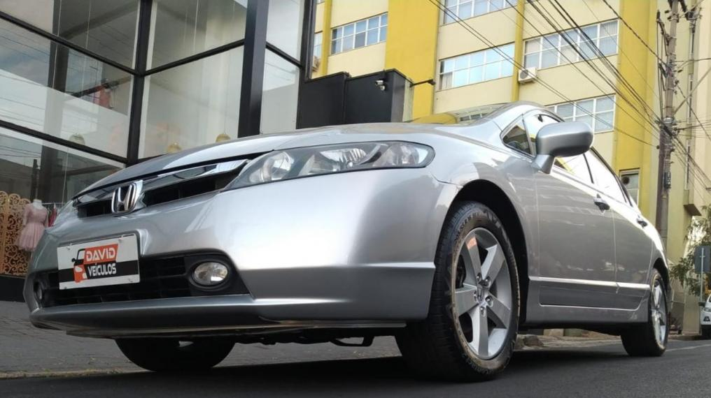 HONDA Civic 1.8 16V 4P FLEX LXS AUTOMÁTICO, Foto 11