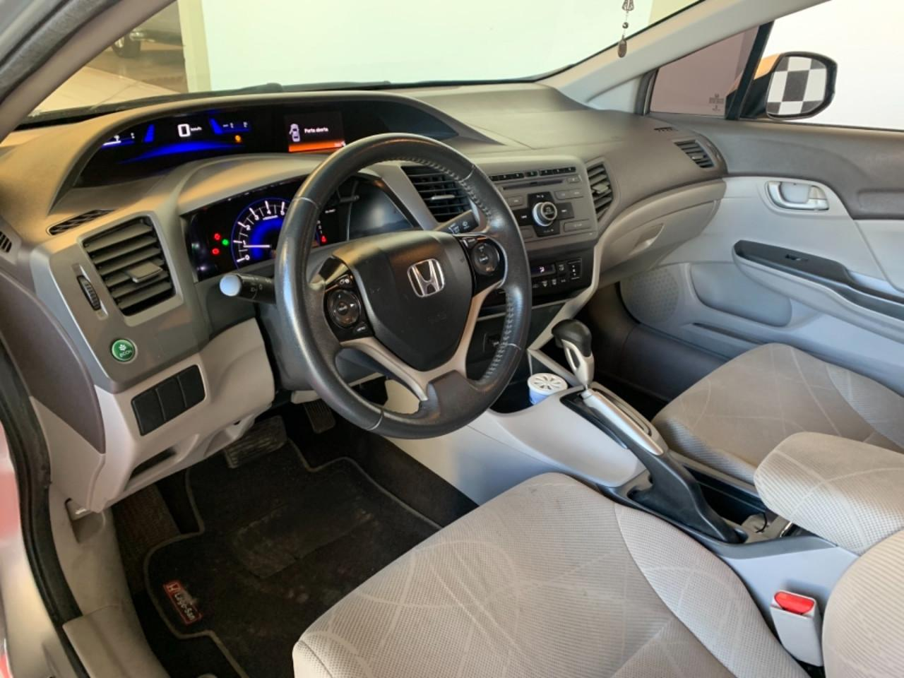 HONDA Civic 1.8 16V 4P FLEX LXS AUTOMÁTICO, Foto 4