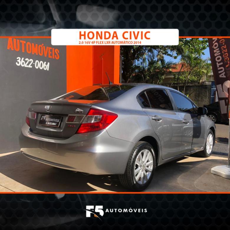 HONDA Civic 2.0 16V 4P FLEX LXR AUTOMÁTICO, Foto 3
