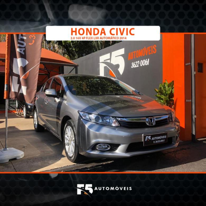 HONDA Civic 2.0 16V 4P FLEX LXR AUTOMÁTICO, Foto 5
